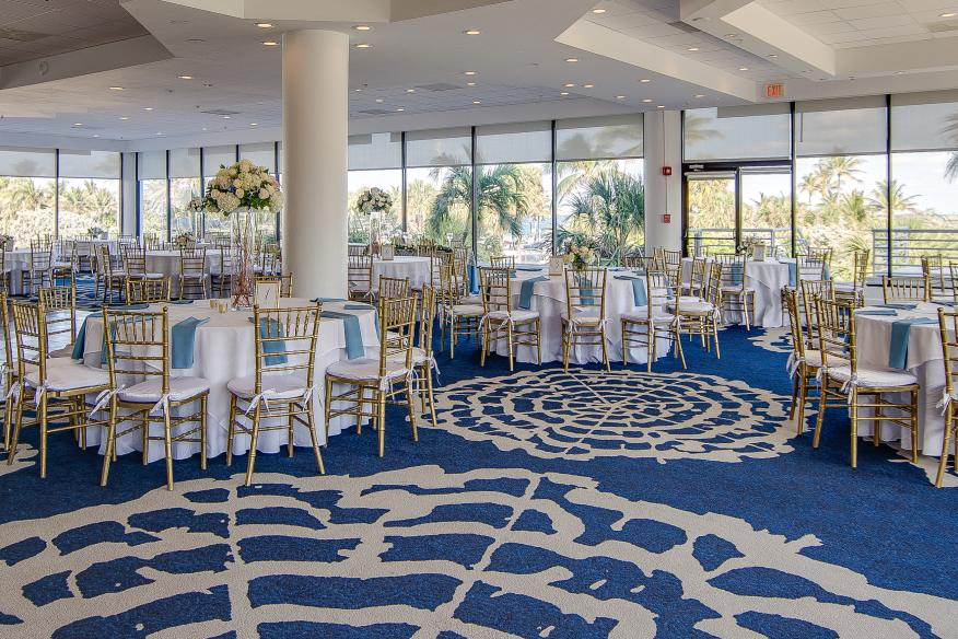Wedding Setup in GrandeView