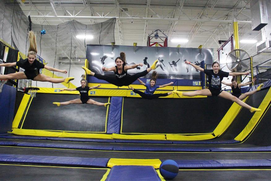 Team jump