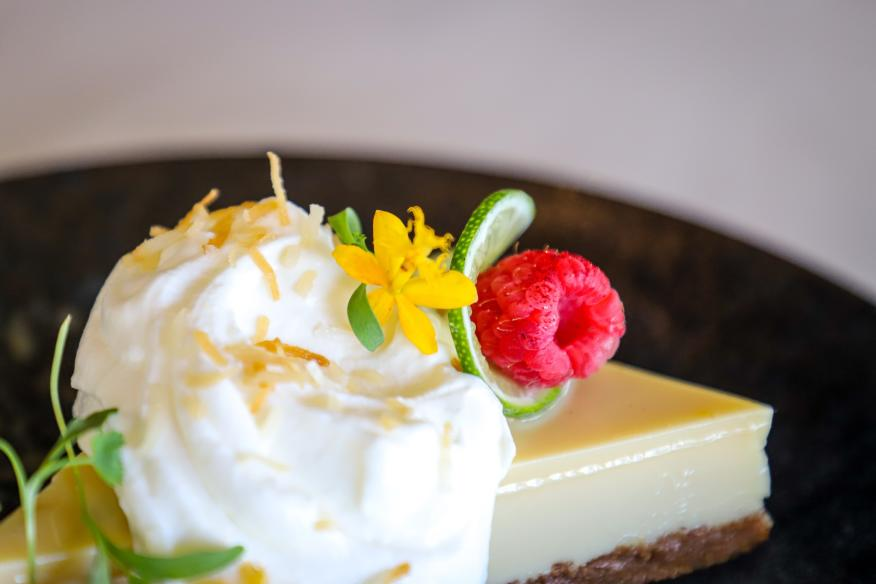 Don't forget dessert! Key Lime Pie is a must.