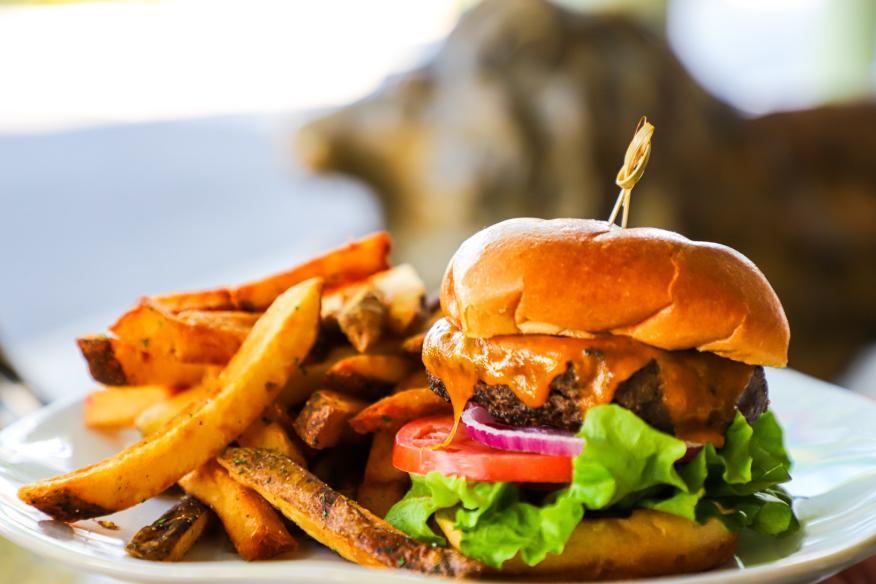 Nothing beats our Las Olas Burger!