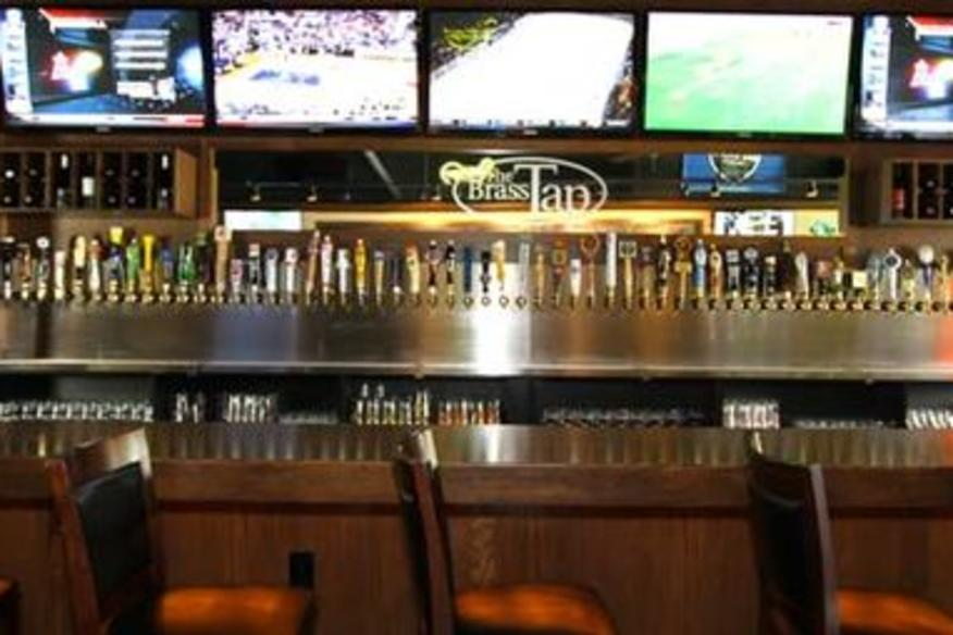 Front View Of Bar
