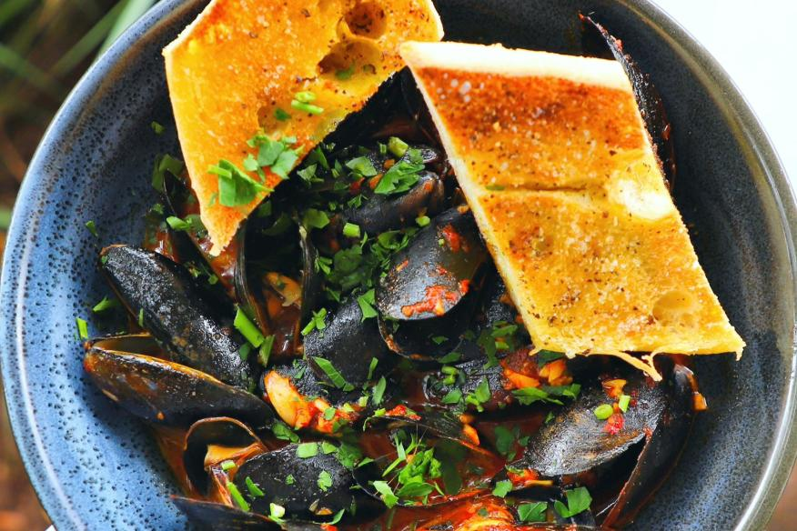 Our Steamed Mussels are Waiting!