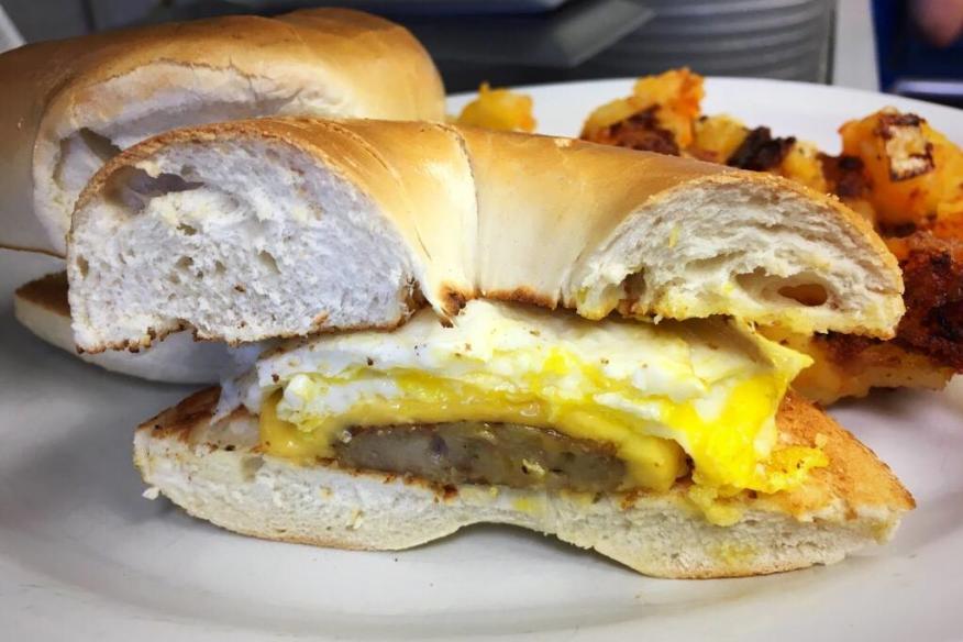 county ham & egg