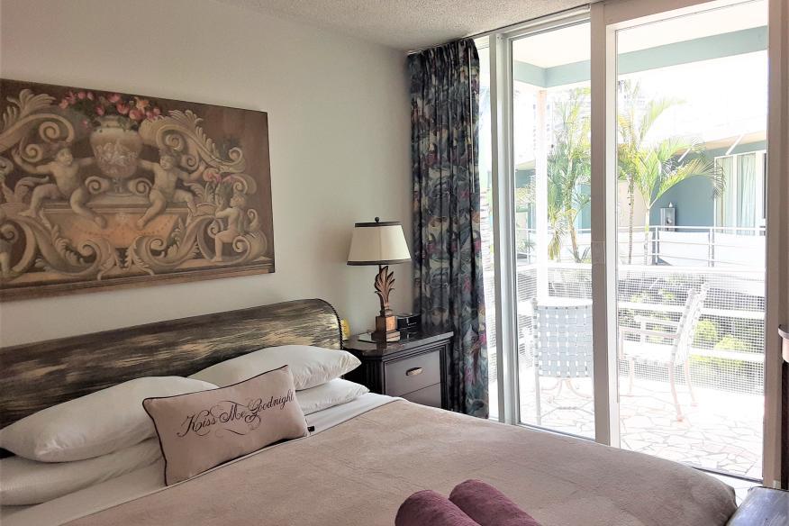 Apartment 208 Master Bedroom