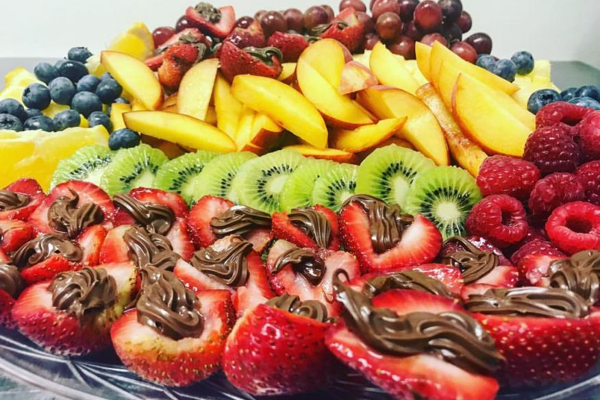 fruit platter = red chair catering