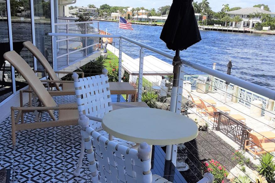 207 apartment  Balcony View.