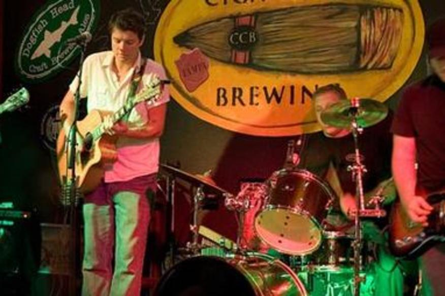 Band Playing At Bar
