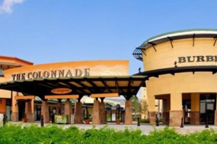 BURBERRY AT THE COLONNADE OUTLETS