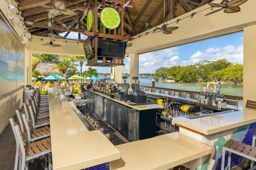 5 o'Clock Somewhere Bar & Grill - Waterfront Bar Area
