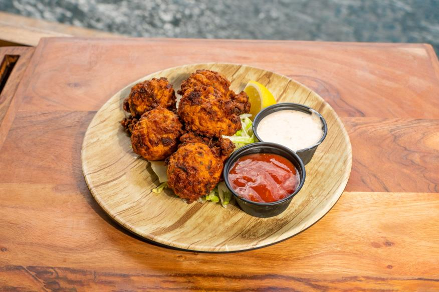 5 o'Clock Somewhere - Conch Fritters