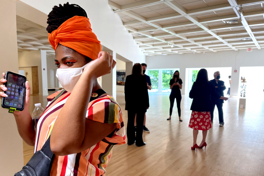 Diaspora in a Time of Change, Coral Springs Museum of Art (2021)