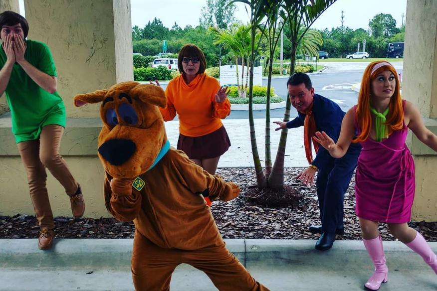 Scooby-Themed Corporate Scavenger Hunt