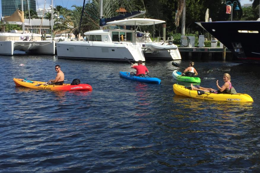 Kayak Rentals in Fort Lauderdale