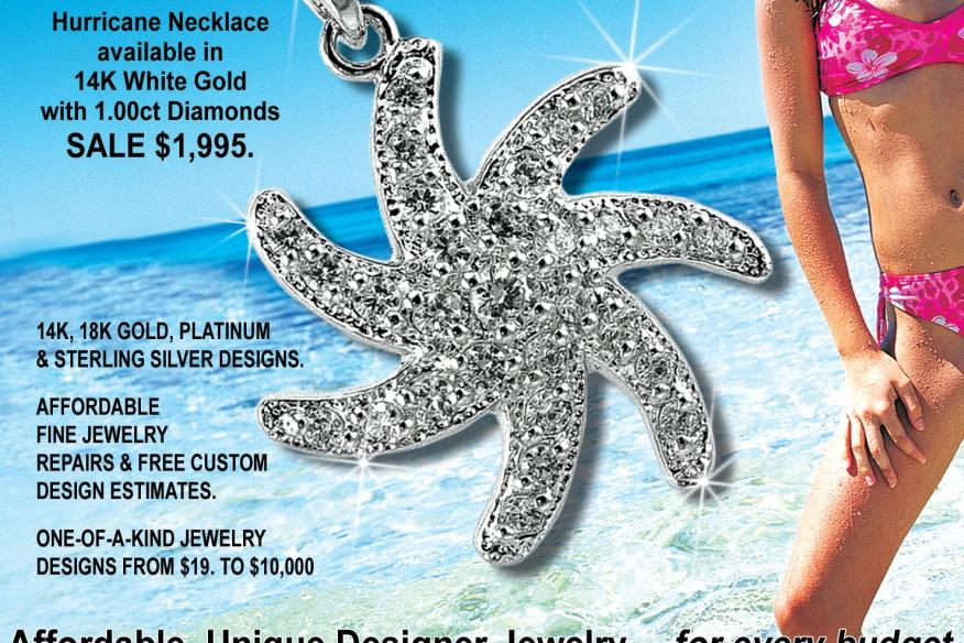 Hurricane Necklace by Argenti Designer Jewelers