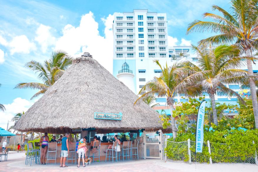 Lone Palm Beach Bar - at Margaritaville Hollywood Beach Resort