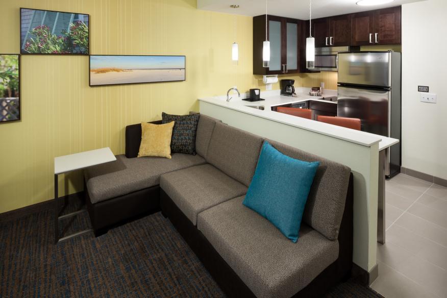 One-Bedroom Suite Kitchen Area