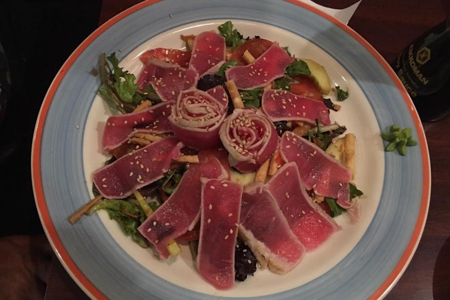 Ahi Tuna Plate