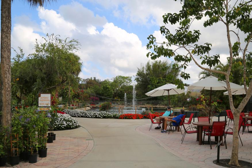 Garden Center and Outdoor Cafe