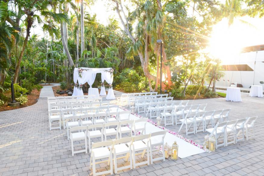 Simple Garden Wedding