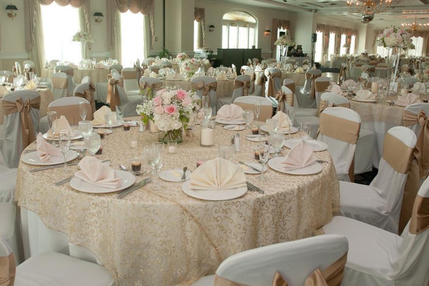 inside banquet set up