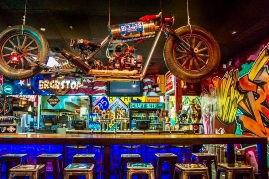 Colorful Craft Bar