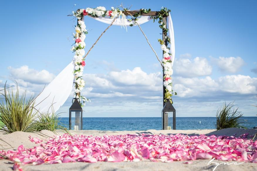 Beach Wedding Beauty