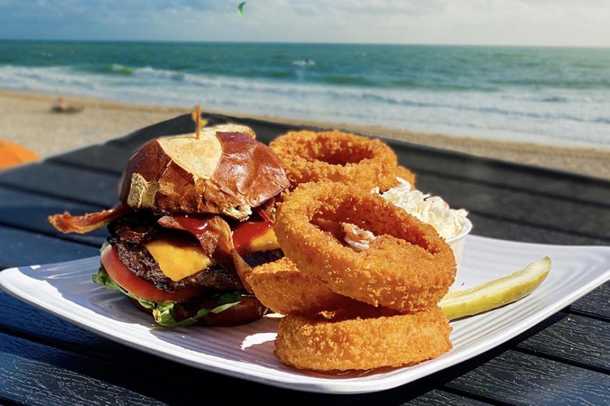 Delicious Beach Burger