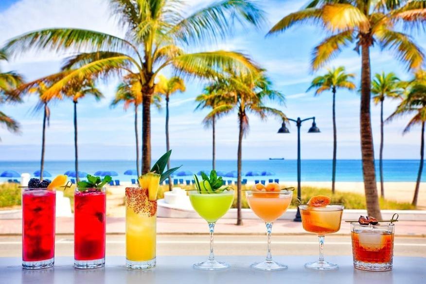 Craft Cocktails at Riviera