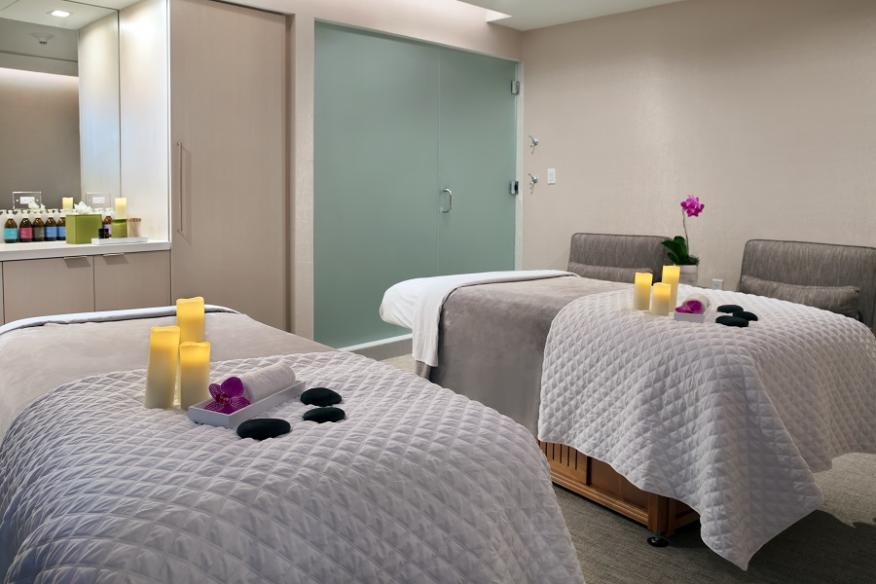 Couple's Treatment Room at CONRAD Spa