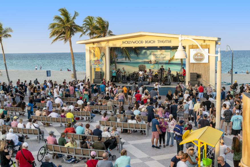 Margaritaville Hollywood Live - Hollywood Beach Bandshell Stage - 2