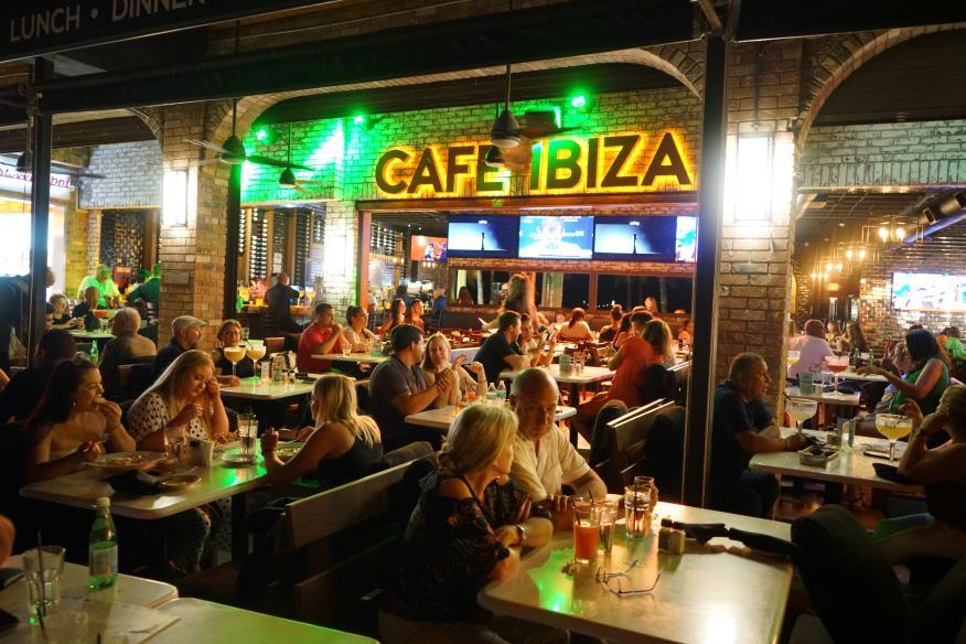 Night Out at Cafe Ibiza