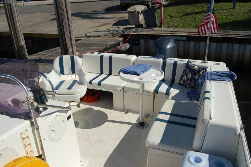 Aft seating