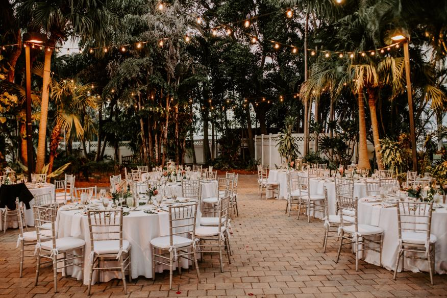 Reception in the Gardens