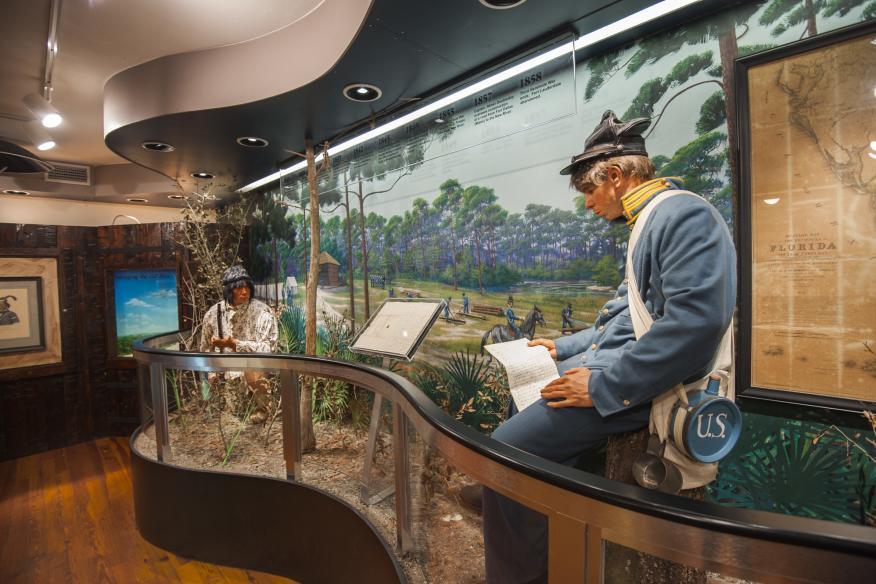 Seminole War History Room