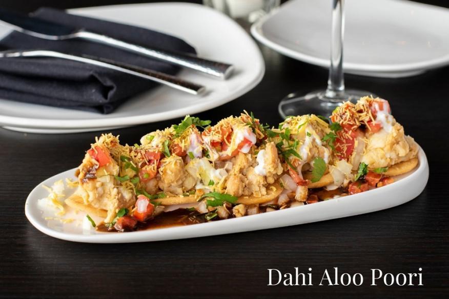 Dahi Aloo Poori