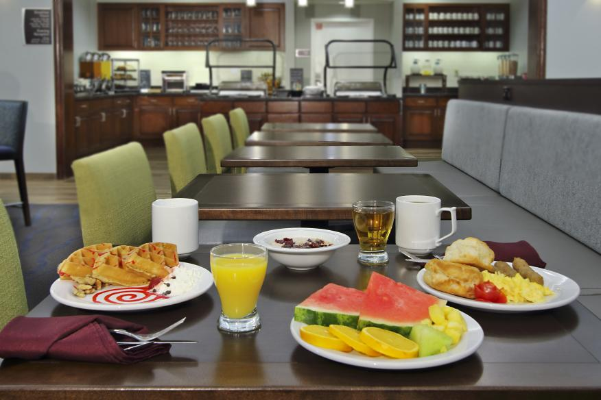 Daily Hot Breakfast Buffet