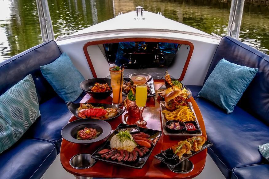 Dinner Cruise option
