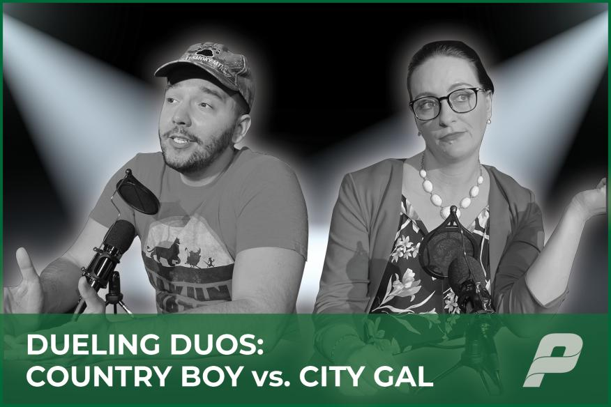 Dueling Duos: Country Boy vs. City Gal