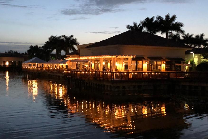 Déjà Blue Restaurants - Sunset