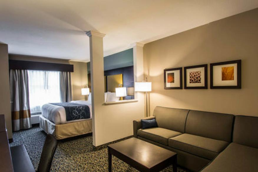 Comfort Suites Fort Lauderdale Airport South & Cruise Port Suite Room
