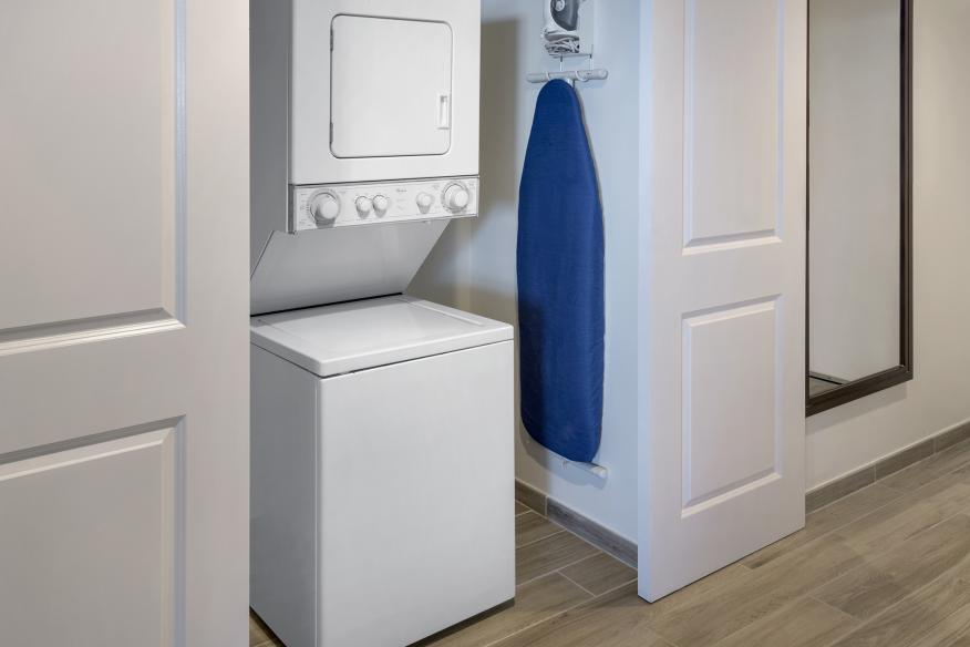 Washer/Dryer all suites and rooms