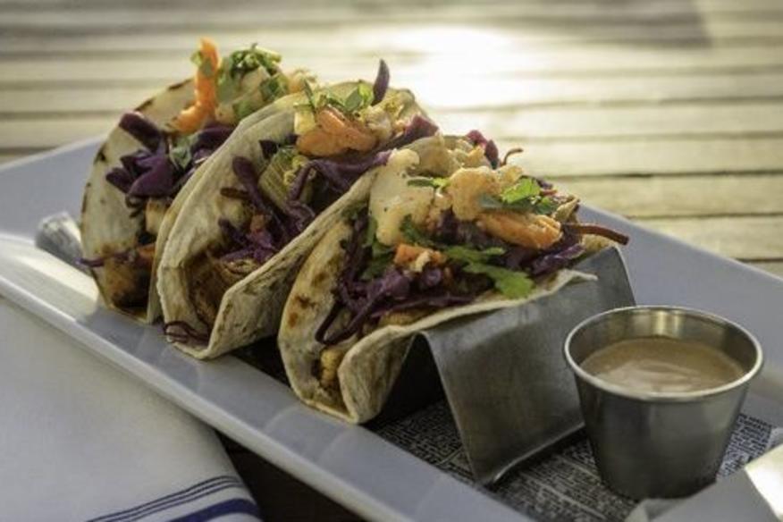 Pelican Landing fish tacos