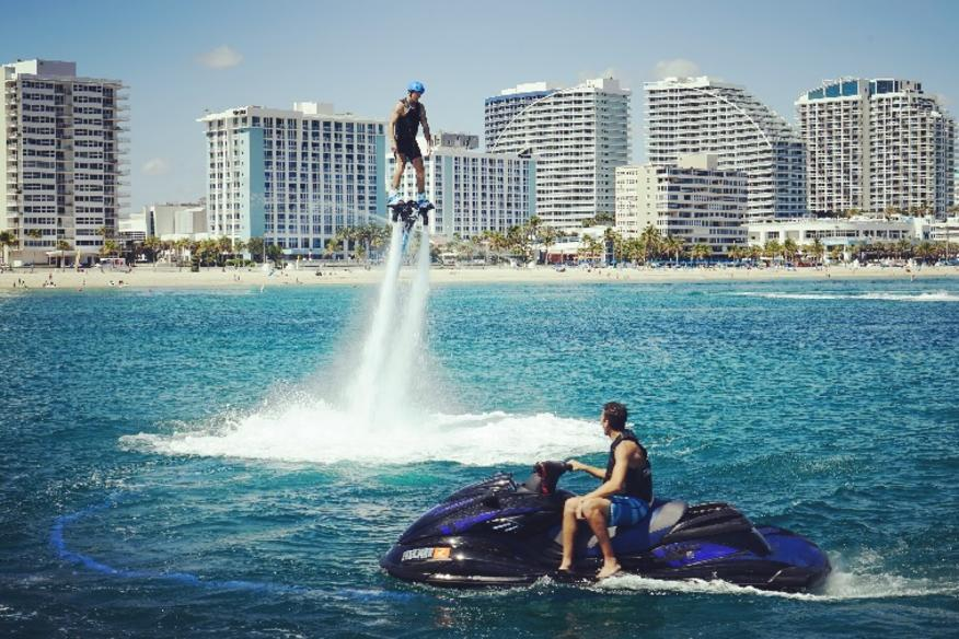 Flyboarding in Fort Lauderdale