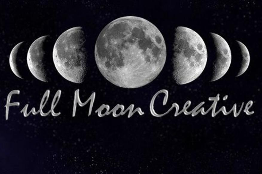 Full Moon Creative Logo