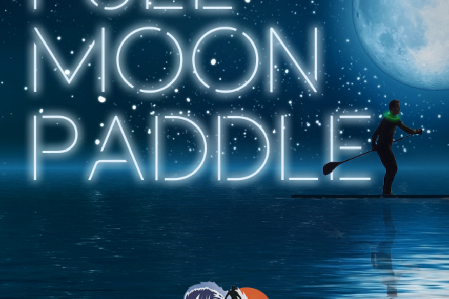 FULL MOON PADDLE - $10 OFF