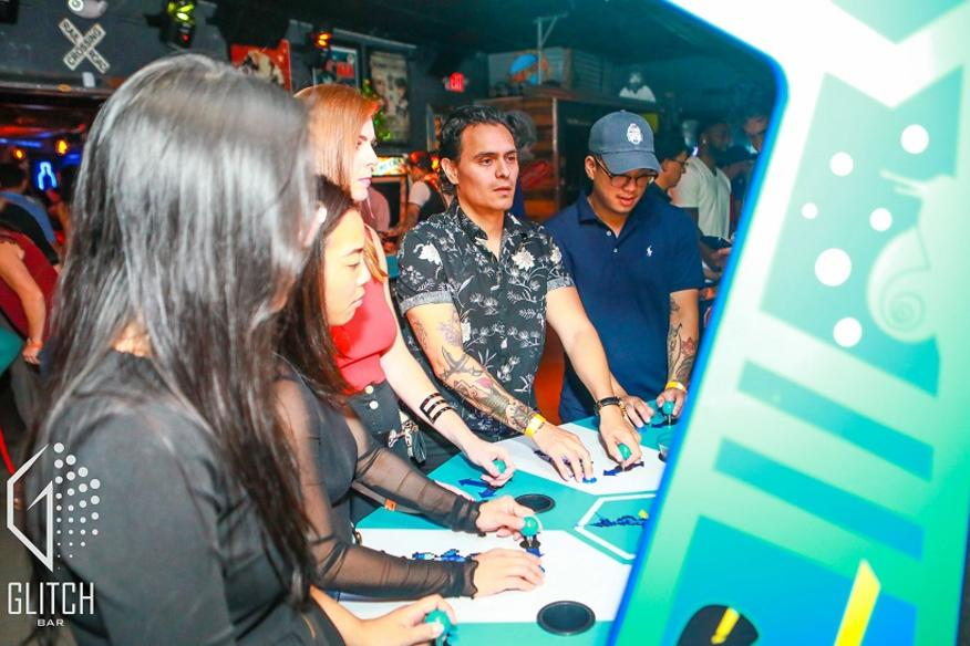 Vintage Arcade with Friends