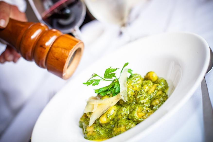 Gnocci Pesto