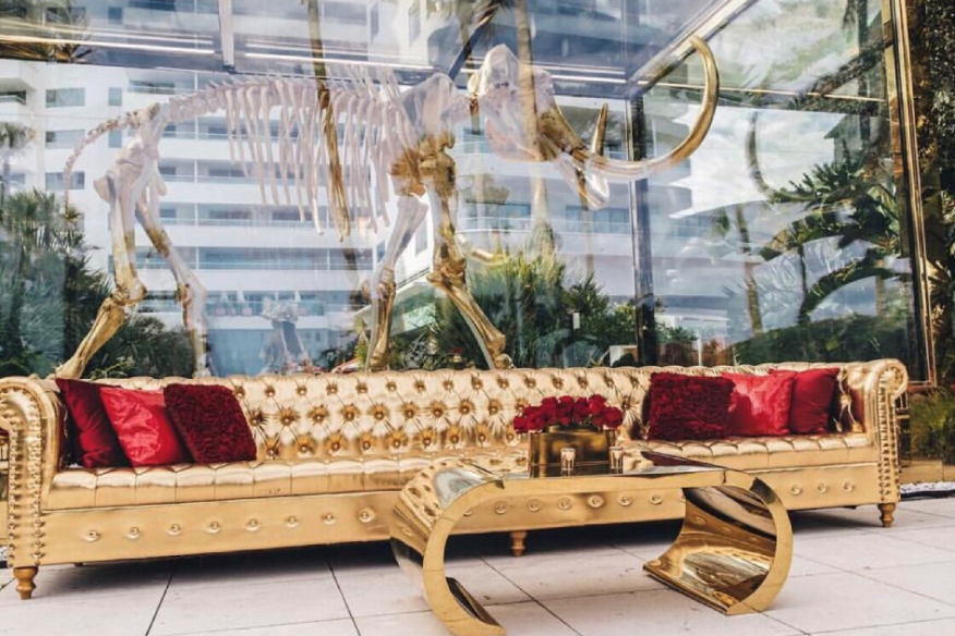 Golden Seating