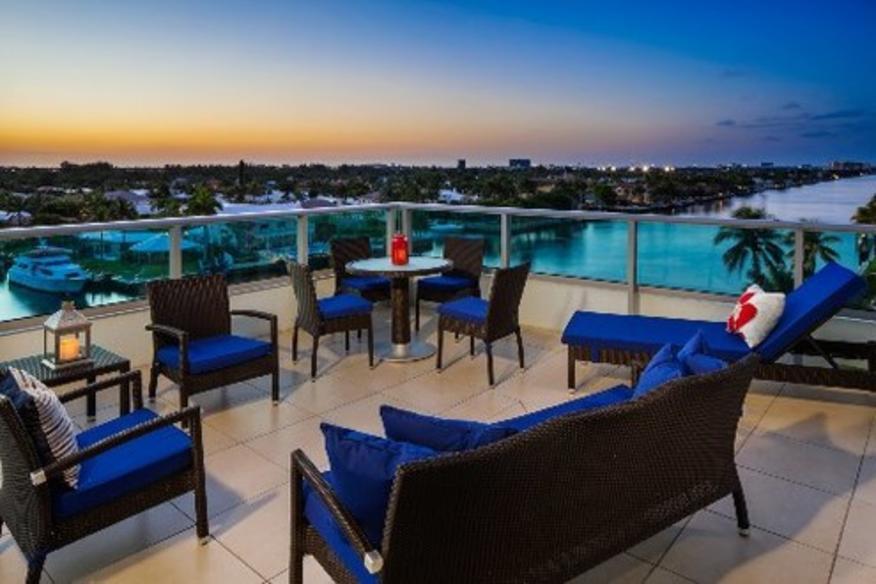 Grand Lugano Suite Balcony View