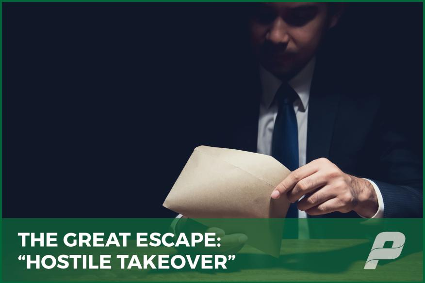 The Great Escape #2: Hostile Takeover
